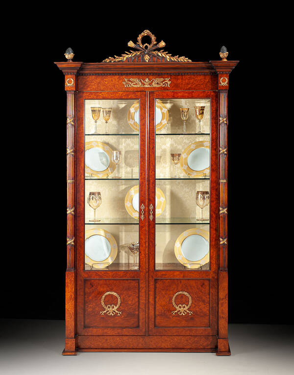 RM-V114-2 Empire Style Display Cabinet