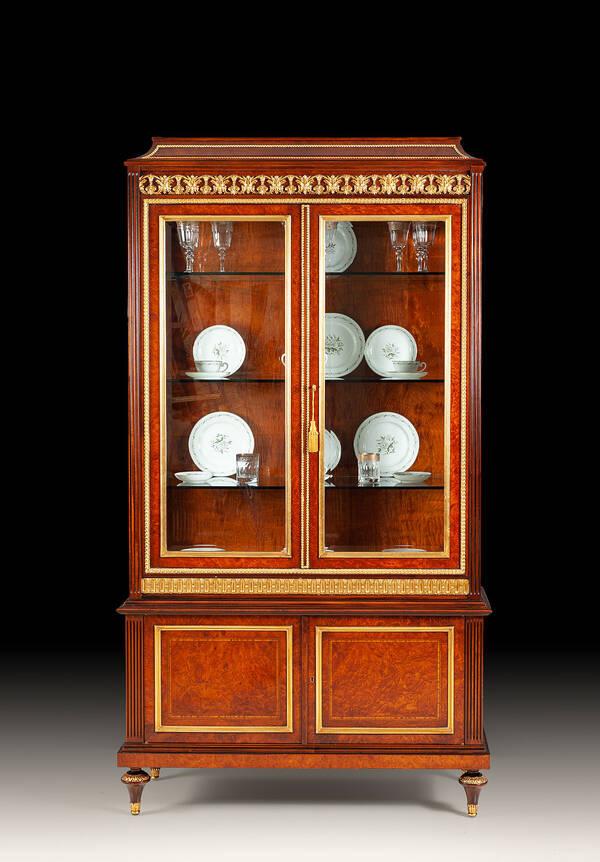 RM-V141 Louis XVI Curio Cabinet