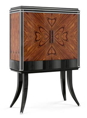 VG-6002 Rosewood Bar Cabinet