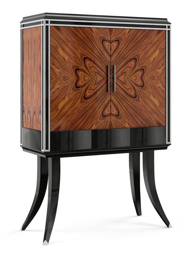 VG-6002 Rosewood Bar Cabinet