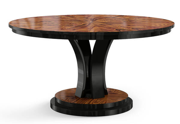 VG-6006 Rosewood Round Dining Table